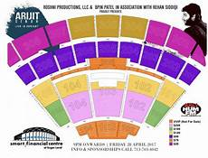 Smart Financial Center Sugar Land Seating Chart Arijit Singh Live In Concert Houston At Smart Financial