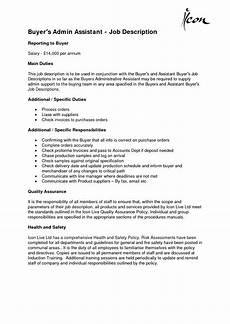 Skills For Administrative Assistant Administrative Assistant Job Description Office Sample
