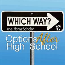 After High School Options Options After High School Newsletter Articles Homescholar