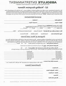 Wedding Planner Contract Party Decorator Contract Template