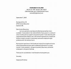 Covering Letter Template Word Nursing Cover Letter Template 8 Free Word Pdf