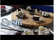 How To Make Simple And Delicious Sushi At Home B Roll   I