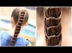 how to create a knotted ponytail cute hairstyles youtube