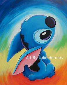 stitch painting by robono on deviantart