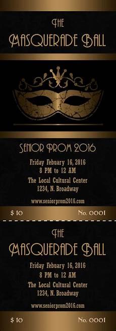 Formal Ball Invitations Masquerade Ball 3 Event Ticket Masquerade Party