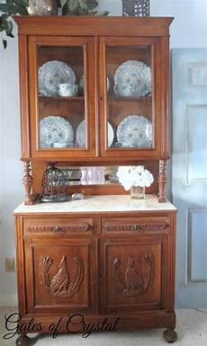 gates of our antique china cabinet