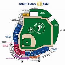 Spectrum Field Seating Chart Florida Sports Grapefruit League Phillies