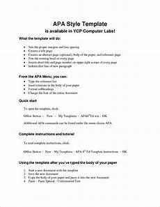 Apa Format Sample Outline Apa Outline Examples Pdf Examples