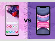 Samsung Galaxy S20 vs iPhone 11: Should you go iOS or Android?
