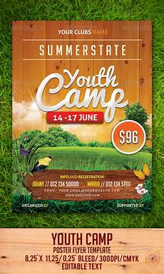 Camp Flyer Template Free Youth Camp Flyer Template By Gulali Graphicriver