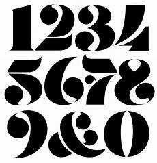 Numbers Design Template Pin On Typography