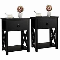 jaxsunny end table side table wooden x shaped