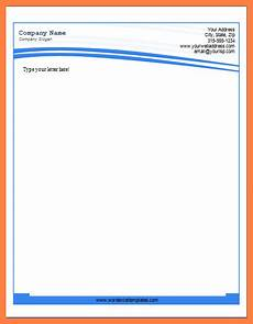 Letterhead In Word 6 Letterhead Templates For Word Company Letterhead