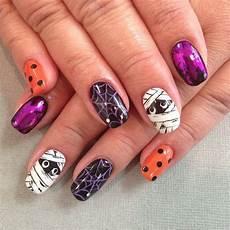 Cool Halloween Designs Nails Halloween Acrylic Nails The Best Halloween Nail Art Ideas