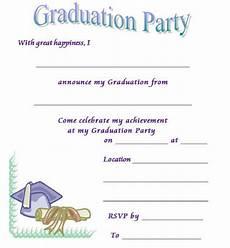 Graduation Announcements Templates Free 40 Free Graduation Invitation Templates ᐅ Templatelab