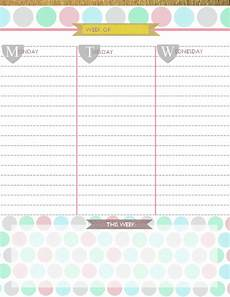 Daily Planner 2015 Your Free Printable 2015 Planner