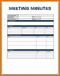 Meeting Minutes Template Word 2010 Meeting Minute Template Word Resume Sample Resume