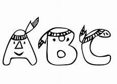 Abc Malvorlagen Gratis Malvorlagen Alphabet Abc Buchstaben Ausmalen