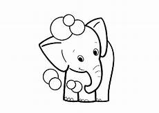 get this elephant coloring pages for preschoolers