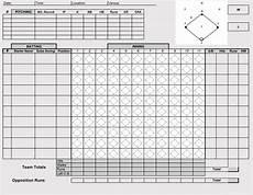 Baseball Scorecard Printable Baseball Scorecards Scoresheets Pdf