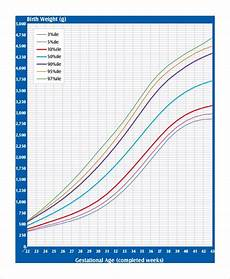Gestational Size Chart Percentile Birth Weight Percentile Chart Gestational Age Invigo