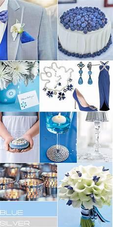 blue sliver wedding colour blue silver wedding theme