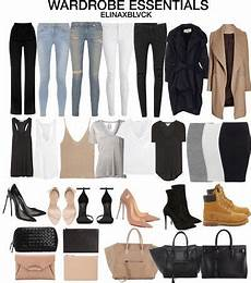 basic clothes fashion capsule fashion