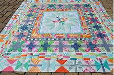 finished aviatrix medallion quilt color quilts by