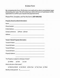 Free Eviction Form Eviction Notice Form Ipasphoto