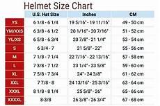 Answer Helmet Size Chart How Do I Determine My Correct Motorcycle Helmet Size