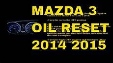 2015 Mazda 6 Oil Light Reset 2014 2015 Mazda 3 Oil Light Reset Youtube