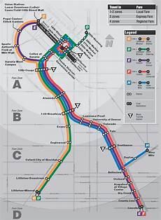 Colombo Light Rail Route Map Denver Rtd Light Rail Map Http Www Rtd Denver Com