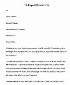 Job Proposal Letter Example Free 46 Proposal Letter Examples In Pdf Ms Word Pages