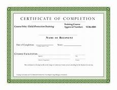 Sample Computer Certificate Course Completion Certificate Template Certificate Of