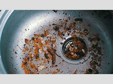 Dirty Clogged Washbasin Sink. Kitchen Stock Footage Video (100% Royalty free) 25698998
