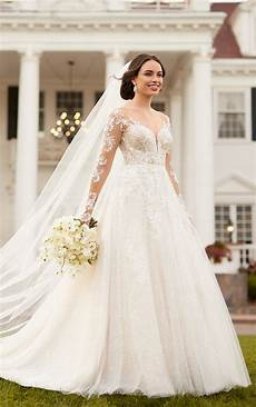 Design Your Wedding Dress Free Beaded A Line Wedding Dress With All Over Sparkle