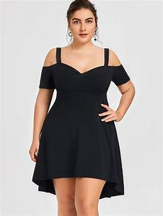 big sleeve dresses for gamiss large size sweetheart neck high low dress