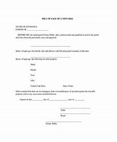 How To Write A Bill Of Sale For A Car Free 9 Sample Blank Bill Of Sale Templates In Pdf Ms Word
