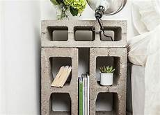 diy cinder block nightstand diy bedroom ideas 11