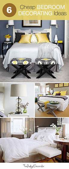 Decorated Bedroom Ideas 6 Cheap Bedroom Decorating Ideas The Budget Decorator