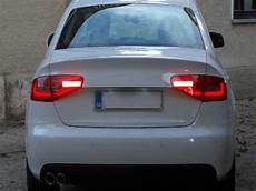 Audi A4 B8 Led Lights Retrofit Audi A4 B8 8k 2008 With 2013 Facelift Led Rear Lights