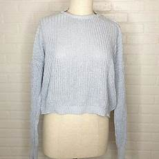 Melville Light Blue Sweater Melville Pullover Light Blue Sweater Ebay