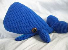 wally the whale amigurumi plush crochet pattern by