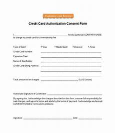 Auto Debit Authorization Form 41 Credit Card Authorization Forms Templates Ready To Use