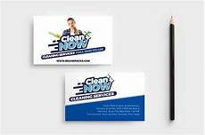 Business Cards For Cleaning Services Cleaning Service Business Card Business Card Templates