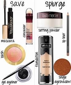 drugstore makeup tutorial save splurge products
