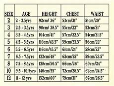 Boys Age Size Chart Child Waist Sizes This Is The Size Chart For Little