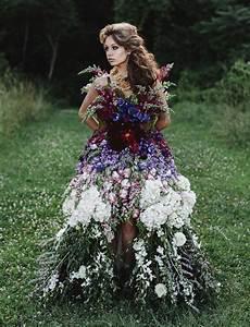 a dress made of flowers green wedding shoes weddings
