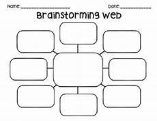 Brainstorming Templates Brainstorming Web By Gabrielle Teachers Pay Teachers