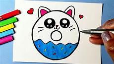 desenho kawaii como desenhar cookie cat fofo kawaii donut desenhos kawaii